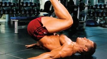 Обратные скручивания — упражнение для тренировки пресса (видео)