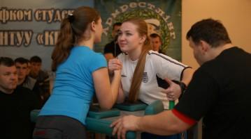 Чемпіонат Києва з армспорту серед студентів 2012. Результати