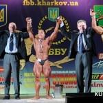 Чемпионат Украины по бодибилдингу IFBB 2013. конечные результаты