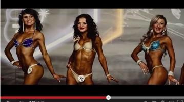Відеозйомка бодибілдерів та фітнес моделей