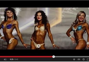 Видеосъемка бодибилдеров и фитнес моделей