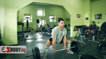 Пауерліфтинг: тренування станової тяги у стилі «сумо»