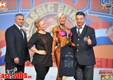 Украинка Ольга Вязметинова победила на европейском турнире по фитнесу
