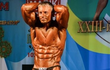 Культурист Сергей Павлишин на Чемпионате Украины NABBA 2013. Фотогалерея