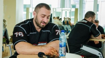 Відео із семінару бодібілдера Олега Кривого у Києві