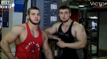 17-ти річні російські бодібілдери: Россихін і Захаров