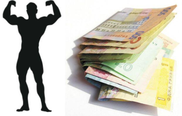 bodybuilder finansy