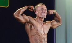 Бодібілдер Володимир Горго на Чемпіонаті України IFBB 2013. Фотогалерея