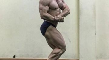 Бодібілдер Степан Степаненко готується виступити на весняних змаганнях