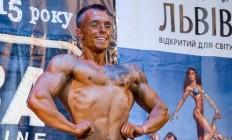 Бодібілдер Дмитро Шевців на Чемпіонаті України NABBA 2015. Фотогалерея