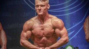 Артур Полутранко: немецкий подросток-бодибилер родом из Украины
