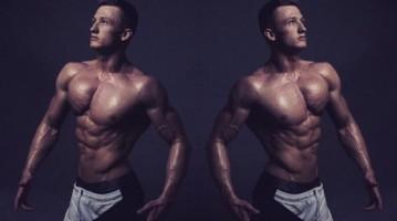 Viktor Minar — чешский атлет Men's physique. Видео