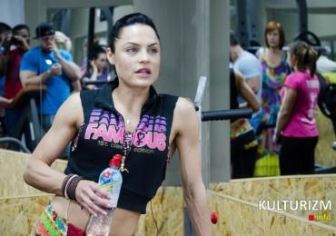 Наталья Касперская провела во Львове фитнес-семинар
