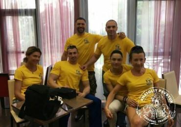 Украинские бодибилдеры выступили на WABBA INTERNATIONAL 2016