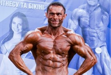 Бодибилдер Владимир Подоляка на Кубке Киева IFBB 2013. Фотогалерея