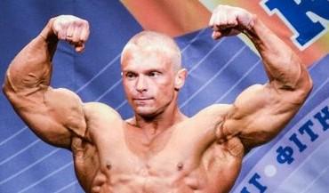 Бодибилдер Андрей Снежко на Кубке Украины IFBB 2014. Фотогалерея