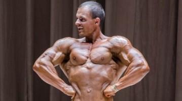 Бодібілдер Олексій Попов на Чемпіонаті UBPF 2015. Фотогалерея