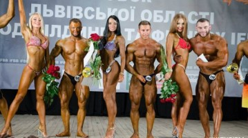 1 жовтня у Львові обласні змагання з бодібілдингу IFBB