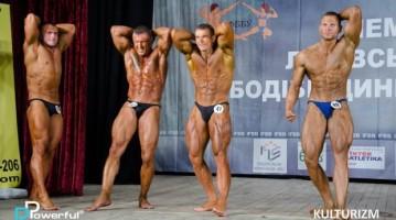 Чемпіонат Львівської області з бодібілдингу IFBB 2016. Результати змагань