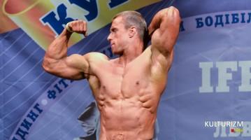 Бодибилдер Максим Левус на Кубке Украины IFBB 2014. Фотогалерея