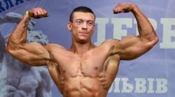 Бодибилдер Виталий Лекарев на Кубке Украины IFBB 2014. Фотогалерея