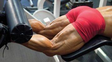Накачать бицепс бедра 6 лучших упражнений и техника исполнения