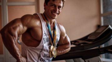 Культурист Денис Осадчий: В Україні помирає бодібілдинг