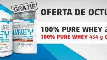 Новинка від BioTech – протеїн 100% Pure Whey вже у продажу: пачка у подарунок!