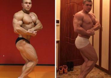 Бодибилдер из Запорожья показал как выглядит атлеты в межсезонье