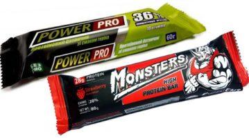 Фитнес-вкусности: сравнение протеиновых батончиков Power Pro и Monsters
