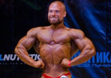 Бодібілдер Сергій Бурденюк на Кубку Києва 2017 IFBB. Фотогалерея