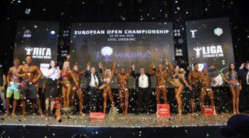 Результаты Чемпионата Европы по бодибилдингу WABBA 2018 во Львове