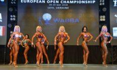 Фото-отчет с Чемпионата Европы по бодибилдингу федерации WABBA 2018 в Львове
