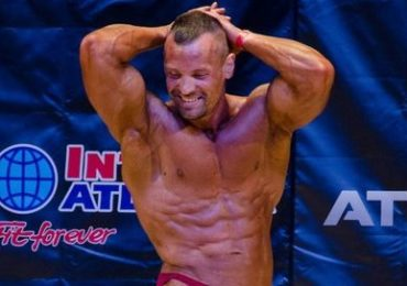 Бодибилдер Роман Глибко на Кубке Киева 2017 IFBB. Фотогалерея